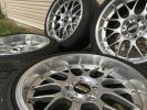 【美品】BBS鍛造タイヤホイールセット BBS RS-GT RS911 18インチ BMW 5シリーズ(E60)(ガリキズなし)