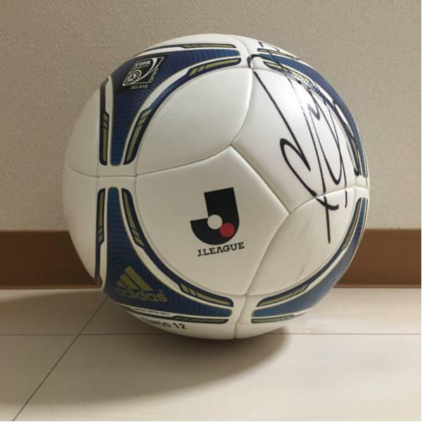 ☆TANGO 12 Jリーグ公式試合球 実使用 横浜Fマリノス選手サイン入☆ グッズの画像