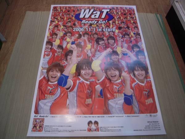 ポスター: WaT「Ready Go!」小池徹平 ウエンツ瑛士