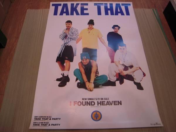 ポスター: TAKE THAT テイク・ザット「I FOUND HEAVEN」