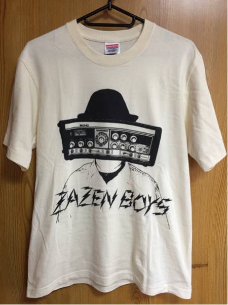 ZAZEN BOYS ザゼンボーイズ : Tシャツ 中古 1 定形外送料無料