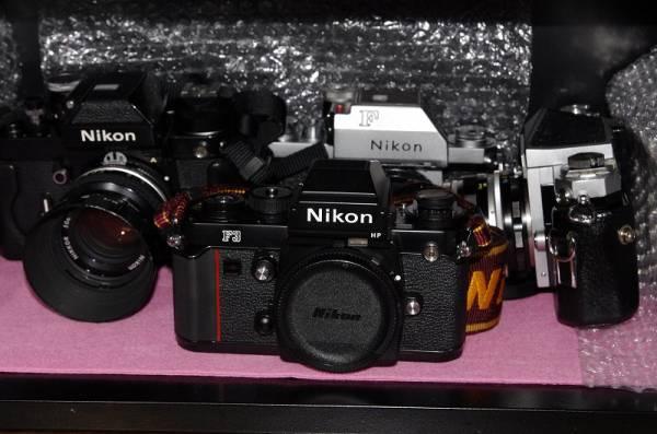 NIKON F3 (防湿庫保管・美品・動作OKです。)_画像3