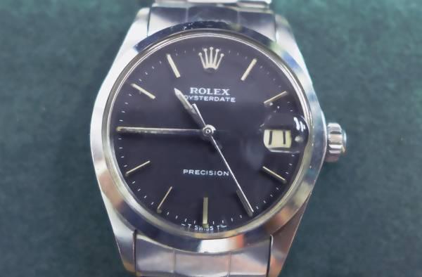ROLEX ロレックス オイスターデイト 6466 cal.1225 手巻き リベットブレス 1962年製