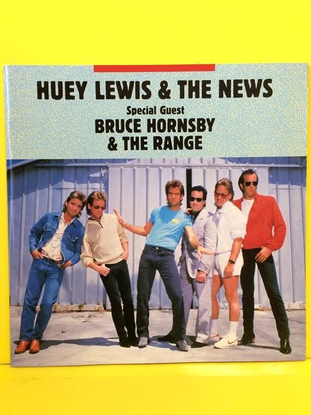 【パンフ】Huey Lewis/ヒューイ・ルイス ツアーパンフ 1987