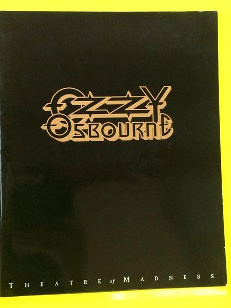 【パンフ】Ozzy Osbourne/パンフ オジー・オズボーン ツアーパンフ 1991