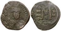 東ローマ帝国 ビザンツ帝国 マウリキウス 11,51 g / 31 mm