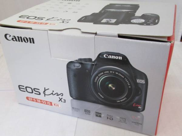 Canon/キヤノン EOS kiss X3 EF-S 18-55 IS キット 美品/1円~