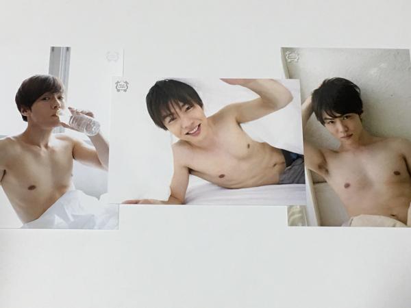 『一徹/生写真3枚②』GIRL'S CH/SILK LABO(シルクラボ)