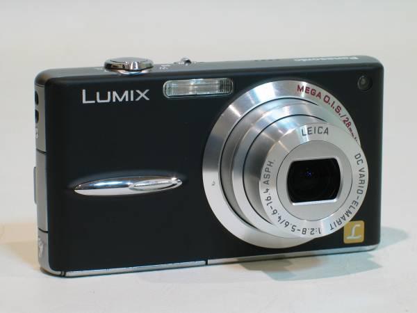 即決! Panasonic  LUMIX DMC-FX30 ブラック 美品