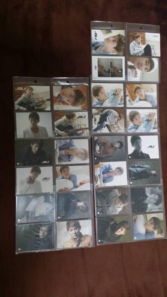 JYJ Collection Card ジュンス ライブグッズの画像