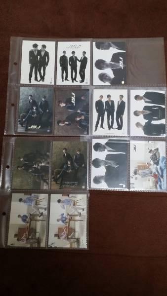 JYJ Collection Card ライブグッズの画像