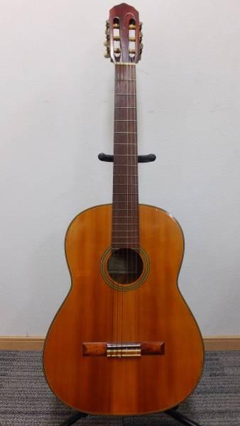 【I26】50年前のヴィンテージ♪ハシモト製 1967年製ガットギター No232★ハードケース付