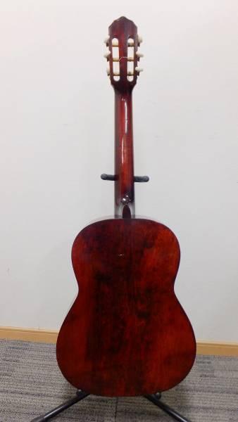 【I26】50年前のヴィンテージ♪ハシモト製 1967年製ガットギター No232★ハードケース付_画像2