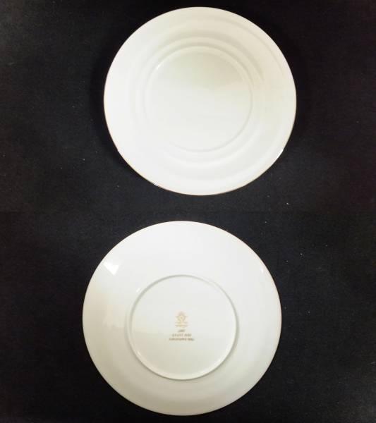 【I32】未使用格安♪ノリタケNoritake 28cm大皿2枚ペアセット♪シンプルで美しい_画像2