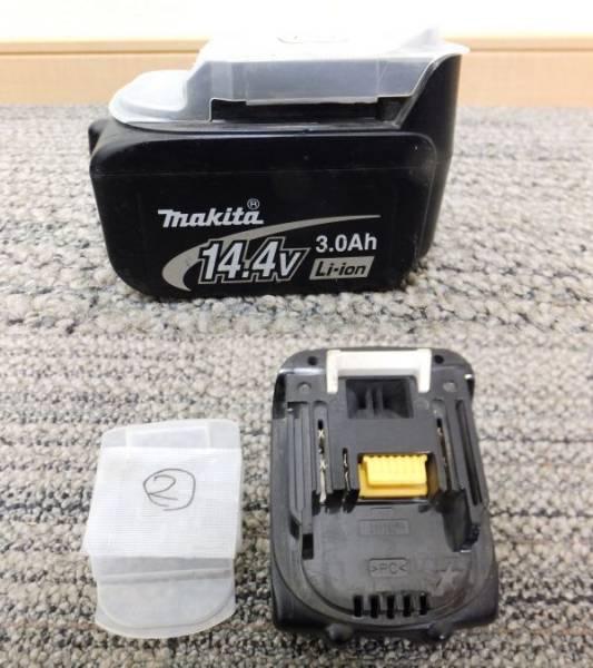 【I78】充電動作OK②♪マキタmakita バッテリー電池 BL1430☆14.4V 3.0Ah純正☆インパクトなどに_画像2
