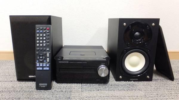 【I67】音出し確認済み♪ケンウッド コンパクトHi-Fiシステムコンポ K-521♪旧iPodも再生可