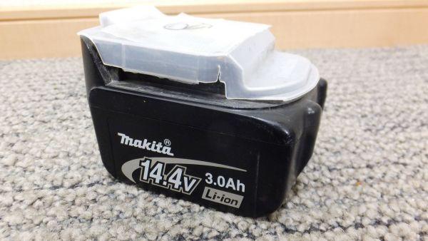 【I78】充電動作OK②♪マキタmakita バッテリー電池 BL1430☆14.4V 3.0Ah純正☆インパクトなどに