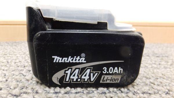 【I77】動作確認済まだまだ使える①♪makitaマキタ バッテリー BL1430☆14.4V 3.0Ah純正_画像2