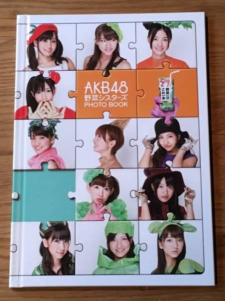AKB48 野菜シスターズ PHOTO BOOK 大島優子 小嶋陽菜 ライブ・総選挙グッズの画像