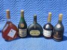 ◆ブランデーまとめて5本セット◆コニャック/ヘネシー/アルマニャック等/古酒/1
