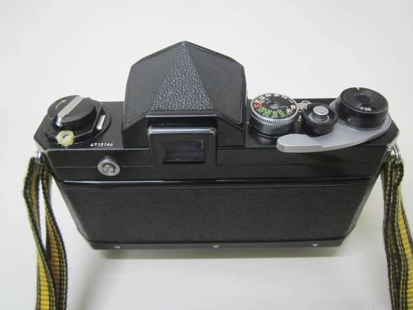 NIKON F ブラック 6712146 50mmF1.4、75mm~150mmズ-ムレンズ 売り切り_画像3