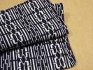 男物浴衣 木綿コーマ 紺白 未着用美品 身丈149裄71