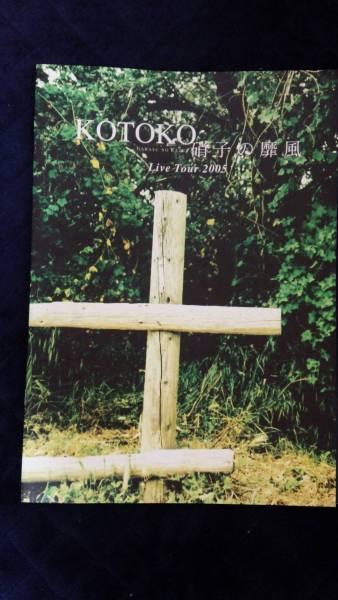 レア 非売品 I've sound KOTOKO Live Tour 2005 硝子の靡風 ツアーパンフレット ライブDVD付き