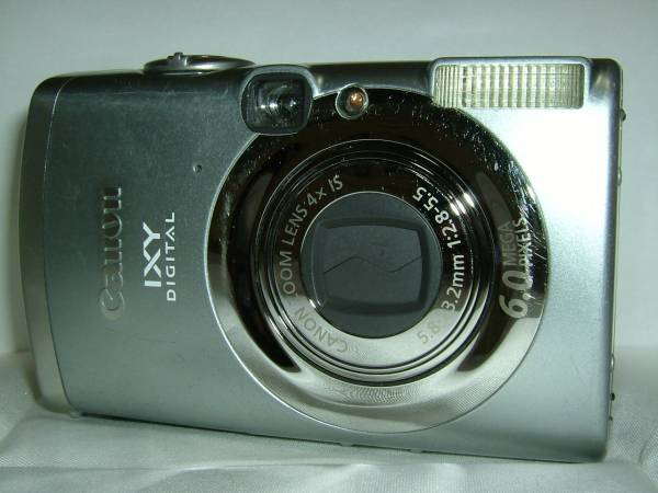 デジカメ Canon IXY DIGITAL 800IS (6.0メガ) 4067