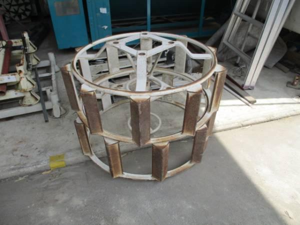 1円スタートKL-27キャビン電動ハローかご車輪ロータリーセット離農_画像3