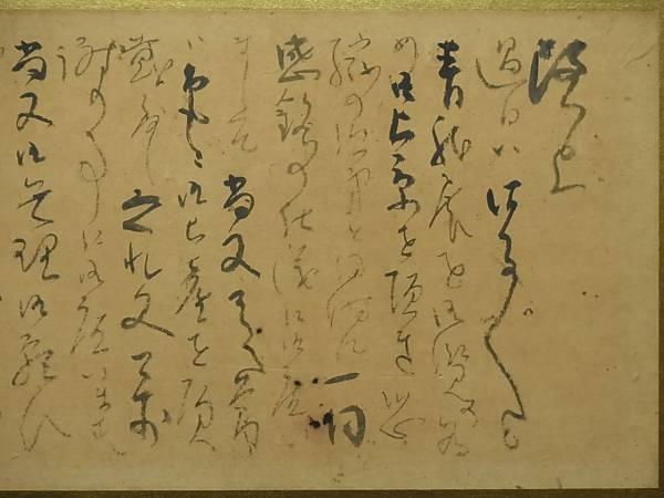343 真筆保証 川端龍子 直筆手紙 画賛 林檎挿絵 横額_画像2