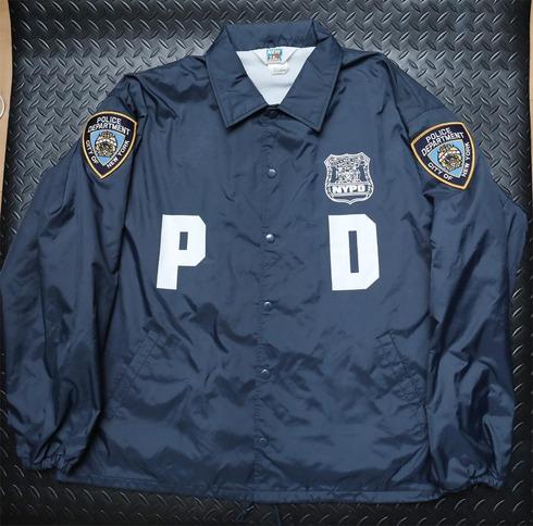 【送料無料】実物 旧型NYPDレイドジャケット XLサイズ 美品 LE装備 POLICE装備