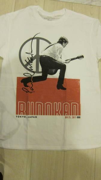 ポールマッカートニー 武道館 限定 Tシャツ 白 BUDOUKAN SPILIT ビートルズ ライブグッズの画像