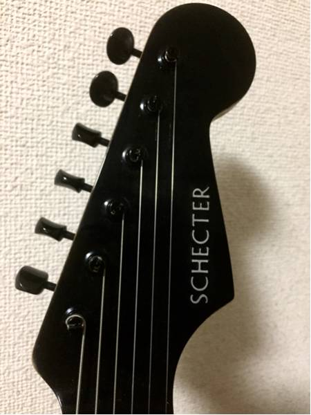 SCHECTER '89 Stratocaster Type - Black