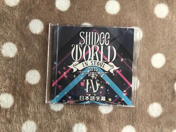 SHINee 「WORLD Ⅳ in SEOUL 2015 」DVD ライブグッズの画像