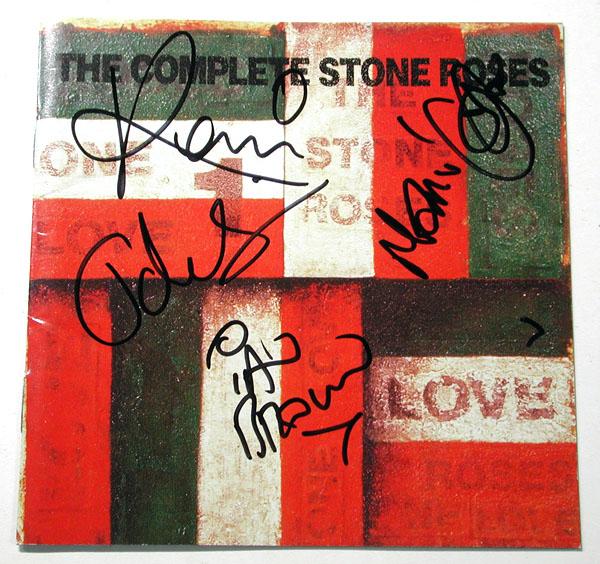 ★★【ザ・ストーン・ローゼス/The Stone Roses】直筆サイン入りCD★★