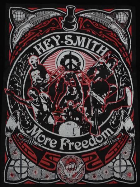 新品/HEY-SMITH 「More Freedom」 限定TシャツLサイズ/ヘイスミス