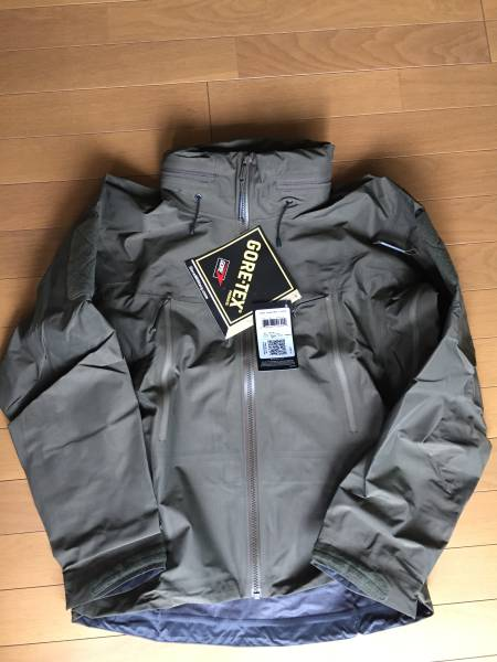 アークテリクス LEAF alpha jacket gen2 ranger green XS