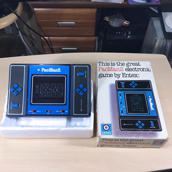 【日本未発売】PACMAN2 Entex 箱あり 整備済 LSIゲーム 電子ゲーム FLゲーム VFD 1981年製 パックマン ゲームウォッチ 超希少品 美品