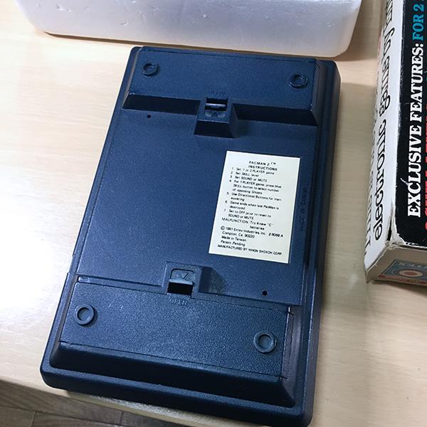 【日本未発売】PACMAN2 Entex 箱あり 整備済 LSIゲーム 電子ゲーム FLゲーム VFD 1981年製 パックマン ゲームウォッチ 超希少品 美品_画像2