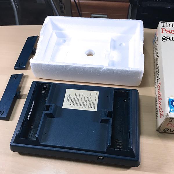 【日本未発売】PACMAN2 Entex 箱あり 整備済 LSIゲーム 電子ゲーム FLゲーム VFD 1981年製 パックマン ゲームウォッチ 超希少品 美品_画像3