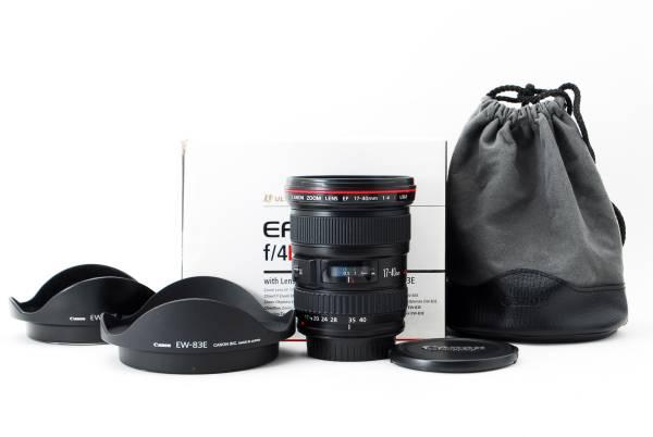 ★超極上品★Canon キャノン EF 17-40mm F4L USM 元箱完備