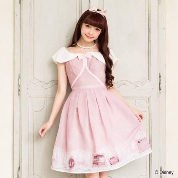 シークレットハニー シンデレラ フェアリーテールワンピース ピンクドレス ディズニーグッズの画像