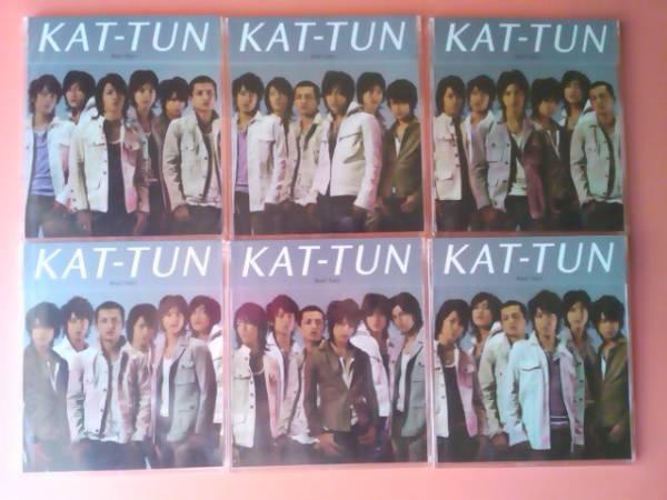 KAT-TUN CD 「Real Face」未開封 6点セット 亀梨和也 赤西仁 田口淳之介 田中聖 上田竜也 中丸雄一