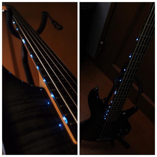 【青LED搭載】Ibanez SR405FM 5弦ベース