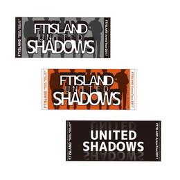 ♪FTISLAND♪ UNITED SHADOWS ツアーグッズ③ ☆フェイスタオル B(赤) ☆シリコンバンド A(黒) ☆シリコンバンド B(白)  3点セット ライブグッズの画像