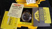 送料無料!INVICTA彫刻カスタム、MOP文字盤、自動巻時計です!