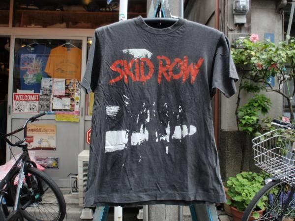 貴重!SKID ROW(スキッドロウ) 1989年初来日記念Tシャツ サイズS?