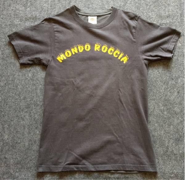 クロマニヨンズ ライブツアーTシャツ モンドロッチャ S グレー MONDO ROCCIA