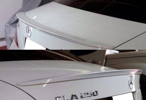 ベンツ W117 C117 CLA トランクスポイラー リアスポイラー リアウイング 新品 未塗装 CLA180 CLA250 CLA45 AMG_画像2