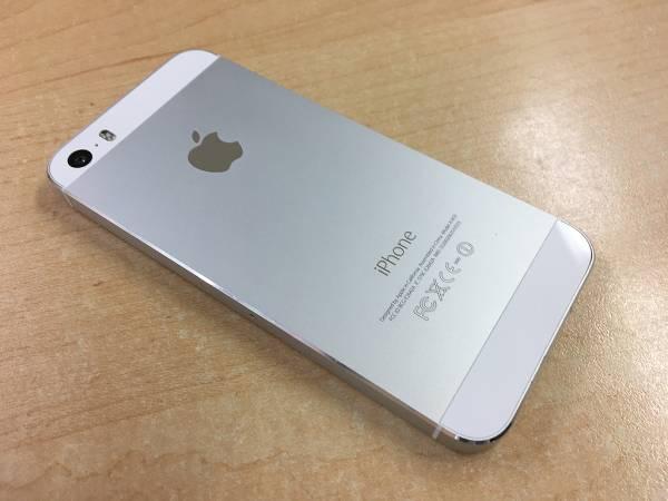 【美品中古】Apple iPhone 5s 32GB シルバー A1453 au_画像2